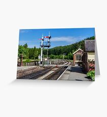 Levisham Station Greeting Card