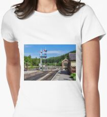 Levisham Station Women's Fitted T-Shirt