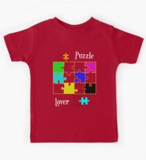Puzzle Lover Kids Tee
