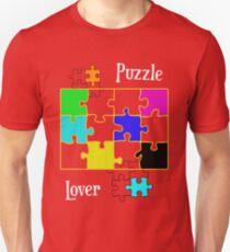 Puzzle Lover Slim Fit T-Shirt