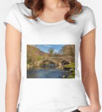 Packhorse Bridge River Duddon Women's Fitted Scoop T-Shirt