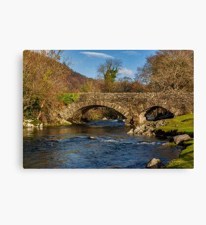 Packhorse Bridge River Duddon Canvas Print
