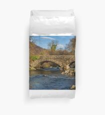 Packhorse Bridge River Duddon Duvet Cover