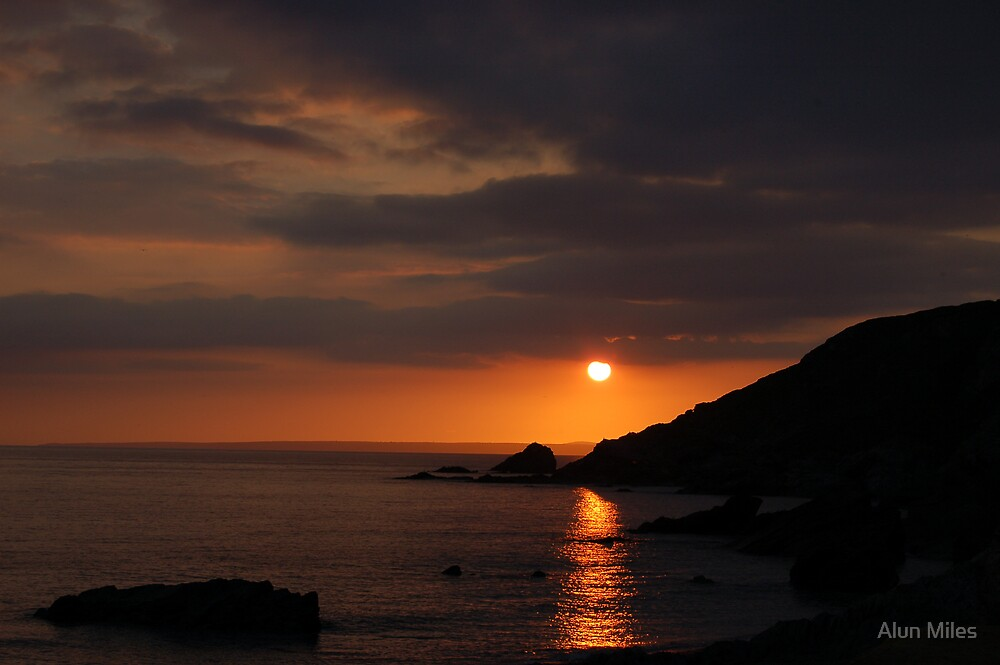 A Cornish Sunset by Alun Miles