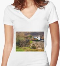 River Cottage Women's Fitted V-Neck T-Shirt