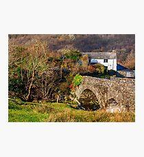 River Cottage Photographic Print