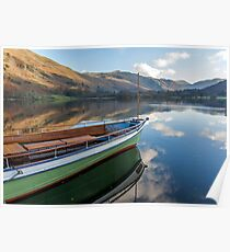 Sailing on Ullswater Poster