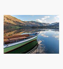 Sailing on Ullswater Photographic Print