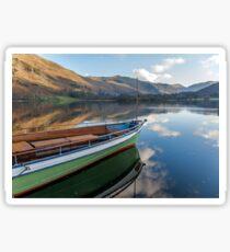 Sailing on Ullswater Sticker