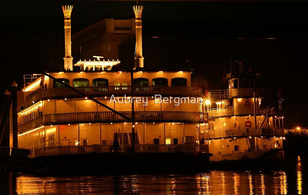 The riverboat by Aubrey  Bergman