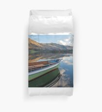 Sailing on Ullswater Duvet Cover