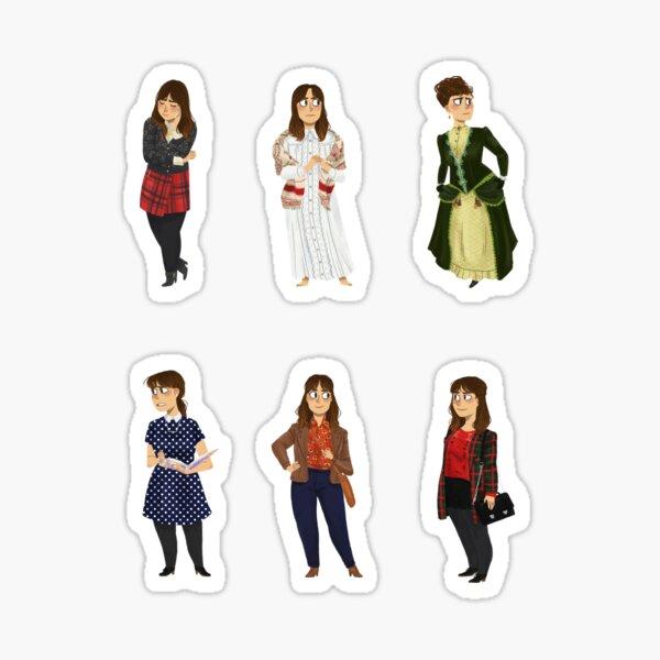 Every Clara Outfit Ever #5 Sticker