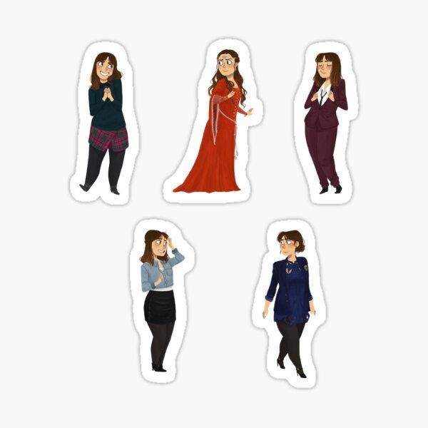 Every Clara Outfit Ever #6 Sticker