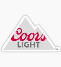 Coors Light Sticker Sticker