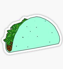 Saucy Taco Sticker