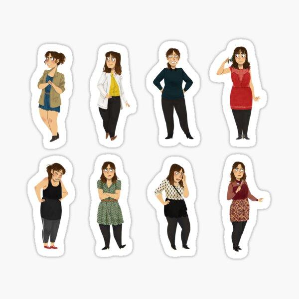 Every Clara Outfit Ever #7 Sticker