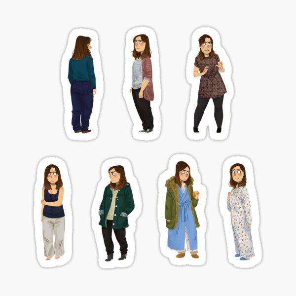 Every Clara Outfit Ever #9 Sticker