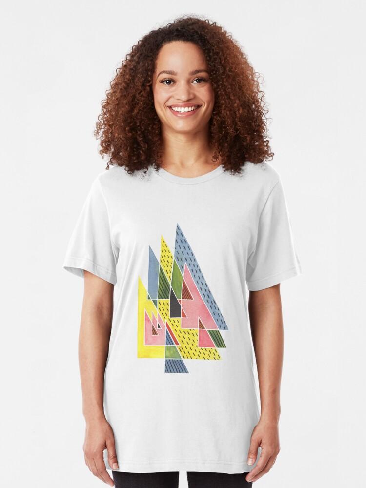 Alternate view of Steep Summits Slim Fit T-Shirt