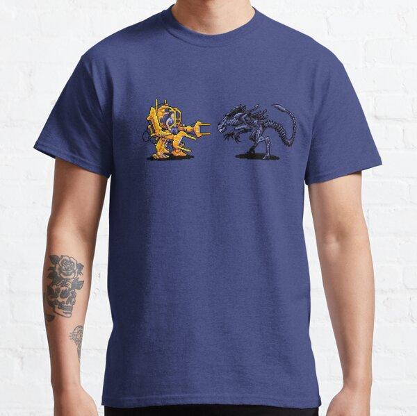 Power Loader Vs Alien Queen  Classic T-Shirt