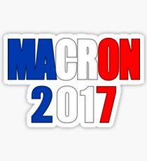 Macron pour le président de la France Sticker
