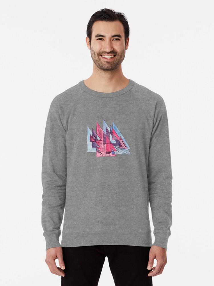 Alternate view of Triangulation Lightweight Sweatshirt
