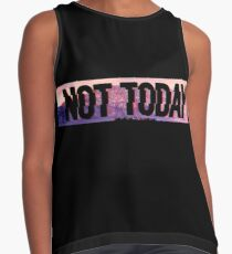 Not Today (Glitch Text) - Bangtan BTS Contrast Tank