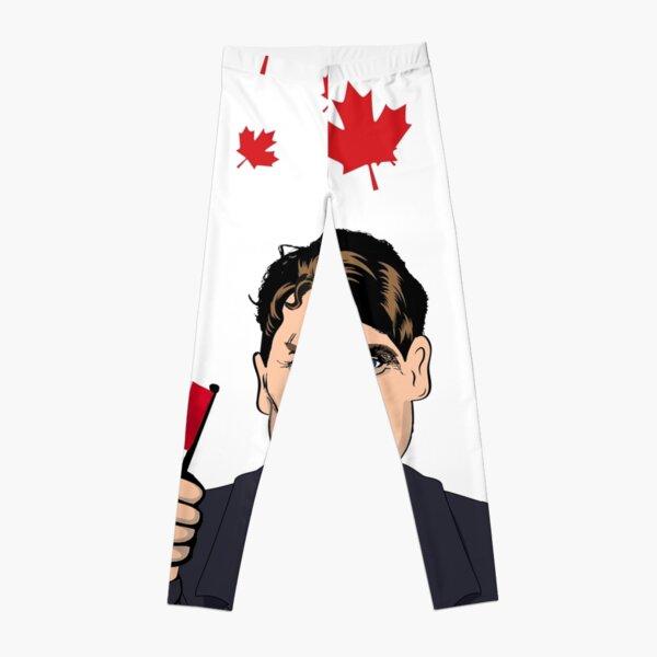 It's Raining Trudeau Leggings