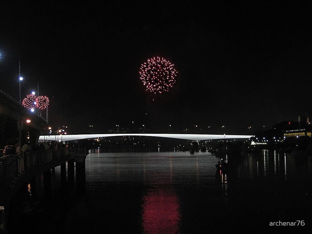 Brisbane Fireballs by archenar76