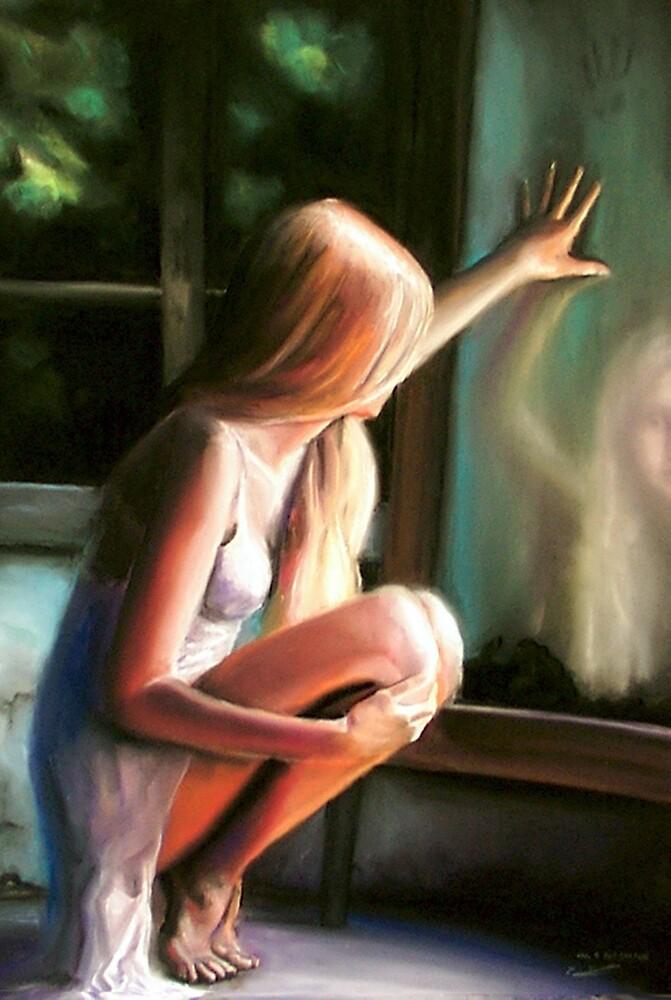 Through a GLass Darkly (pastels) by Paul Douglas Robertson
