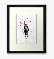 Colorfull Soldier Framed Print