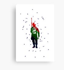 Colorfull Soldier Canvas Print