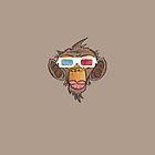 Monkey 3D by portokalis