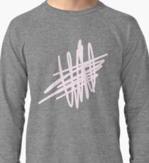 Pink Abstract Lightweight Sweatshirt