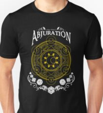 Abjuration - D&D Magic School Series : White Unisex T-Shirt