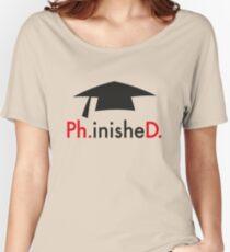 Ph.D. Women's Relaxed Fit T-Shirt