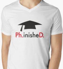 Ph.D. Men's V-Neck T-Shirt