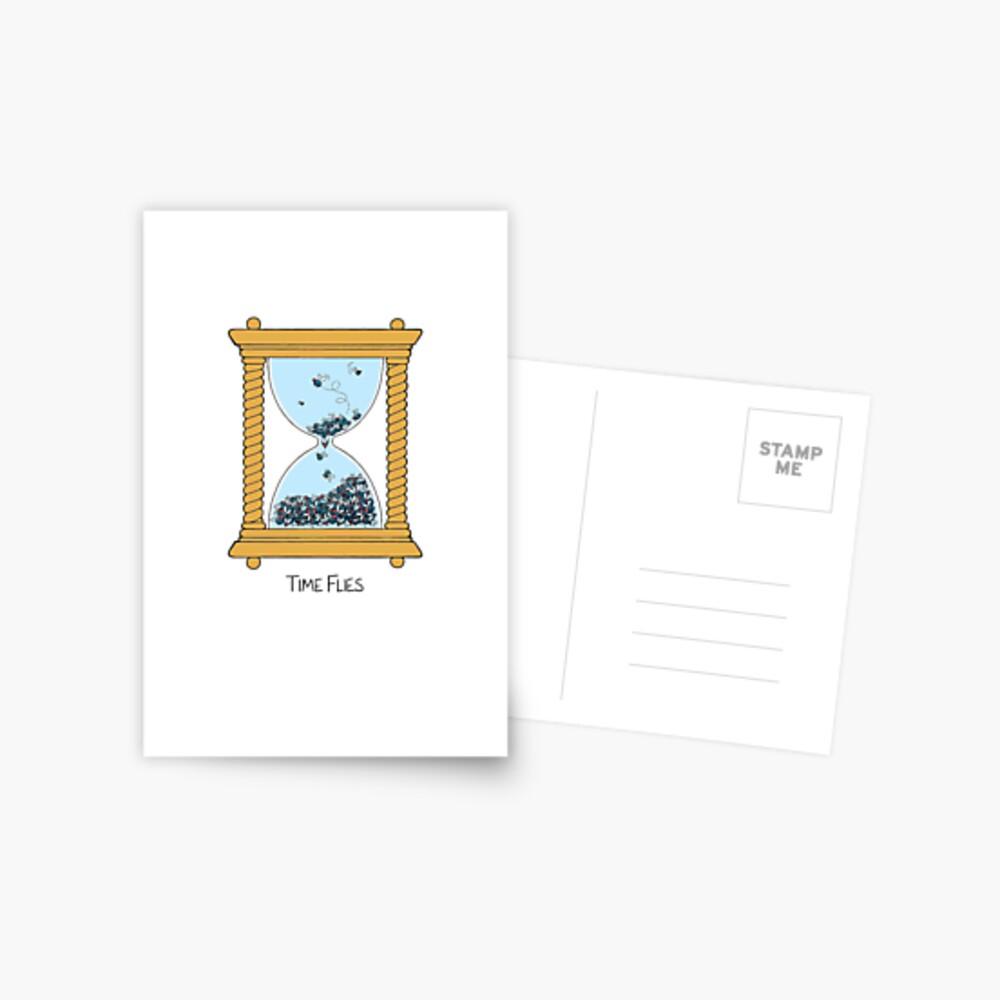 Time Flies Postcard