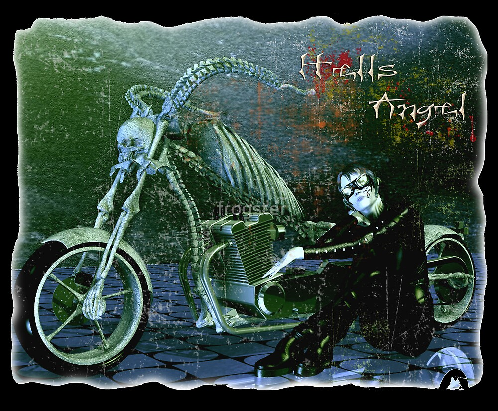 Hells Angel by frogster
