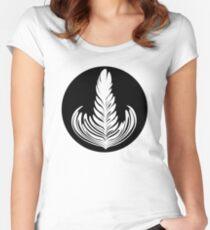 Rosetta (cercle noir series) Women's Fitted Scoop T-Shirt