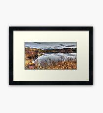 Loch Drumbeg  and Quinag Framed Print