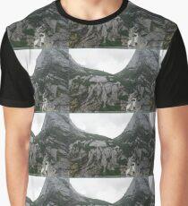 Stone Waterfall  Graphic T-Shirt