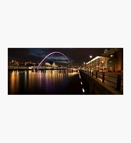 The Millenium Bridge Panoramic Photographic Print