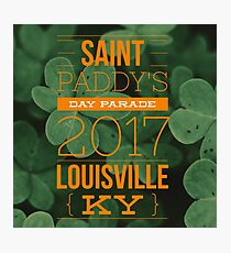 Saint Paddy's Day Clovers  Photographic Print