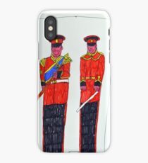 David-Soldiers 1 iPhone Case/Skin