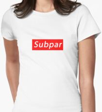 SUBPAR  Fitted T-Shirt