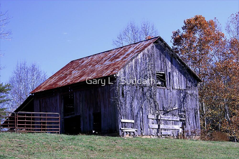 Rusty Old Barn by Gary L   Suddath