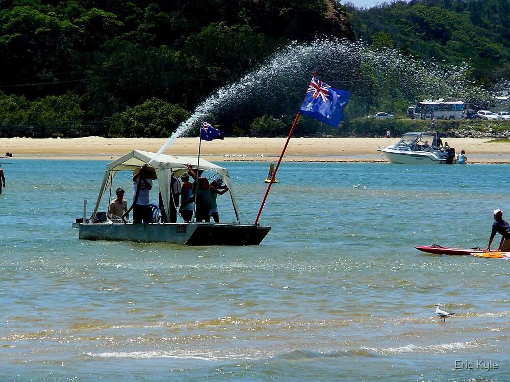 """""""AUSTRALIA DAY"""" LETS PARTY. by Eric Kyle"""