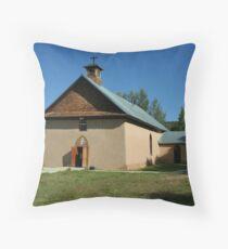 Arroyo Seco, Church Throw Pillow