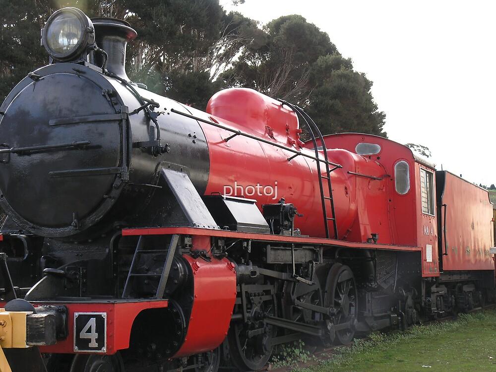 Tasmania Steam Train, 'Still Going' by photoj