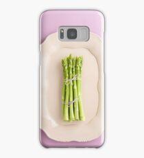 Fresh green asparagus Samsung Galaxy Case/Skin